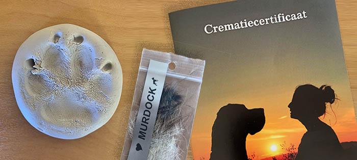 na de crematie wordt een crematiecertificaat verstrekt.